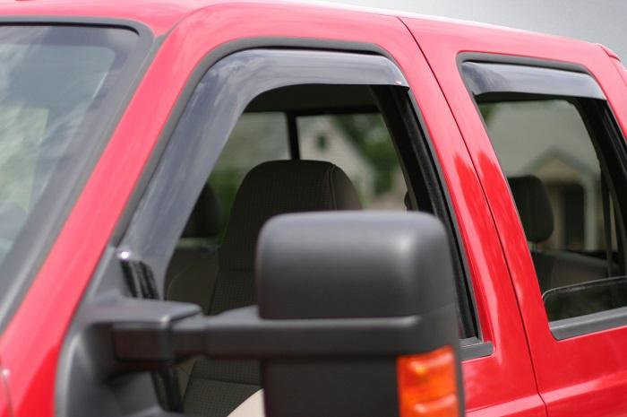2012 Ford Super Duty In-Channel Wind Deflectors