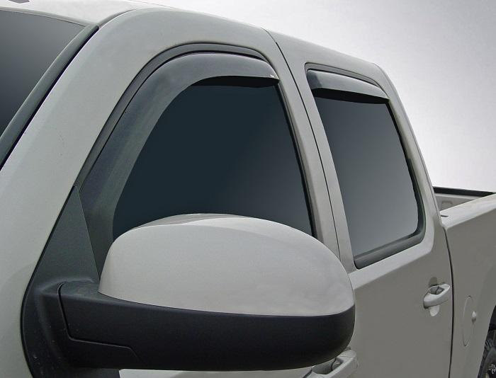 2013 GMC Sierra In-Channel Wind Deflectors