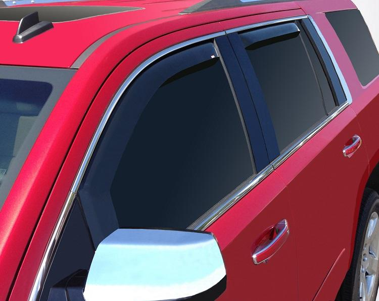 2015 GMC Yukon In-Channel Wind Deflectors