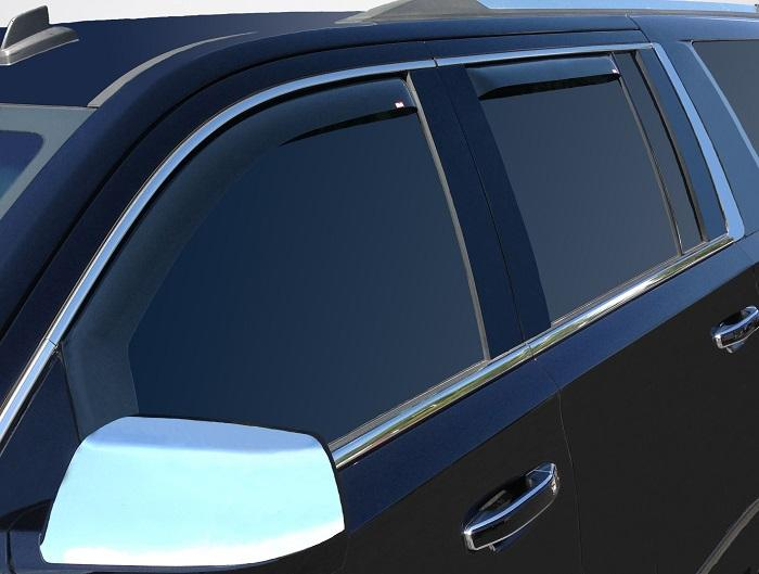 2018 GMC Yukon XL In-Channel Wind Deflectors
