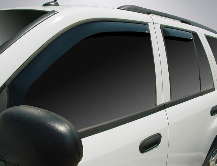 2003 Chevrolet Trailblazer In-Channel Wind Deflectors