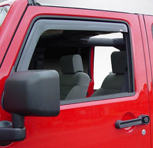2009 Jeep Wrangler In-Channel Wind Deflectors