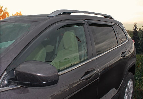 2016 Jeep Cherokee Slim Wind Deflectors