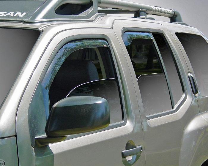 2008 Nissan Xterra In-Channel Wind Deflectors