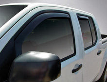 2012 Nissan Frontier In-Channel Wind Deflectors
