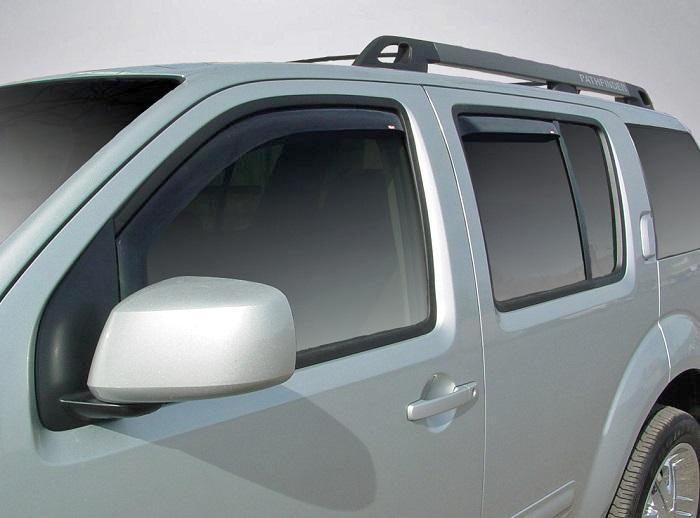 2005 Nissan Pathfinder In-Channel Wind Deflectors