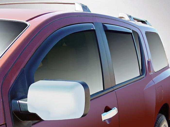 2008 Infiniti QX56 In-Channel Wind Deflectors