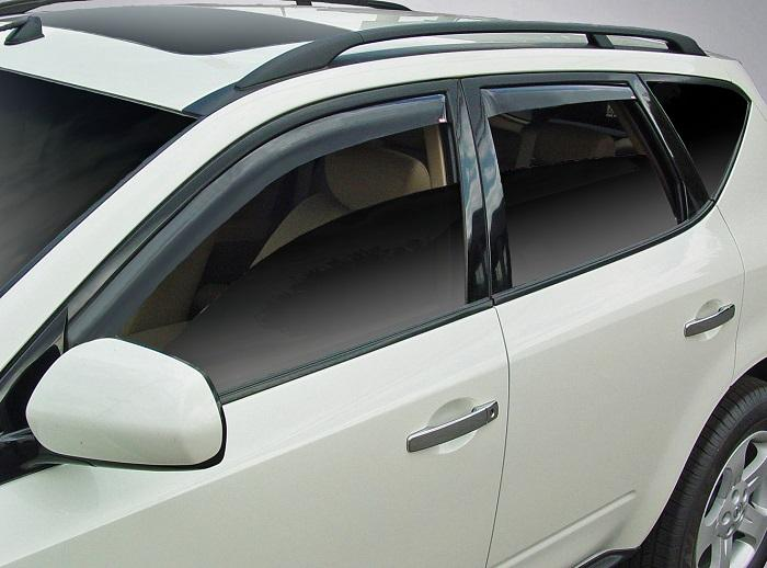 2006 Nissan Murano In-Channel Wind Deflectors
