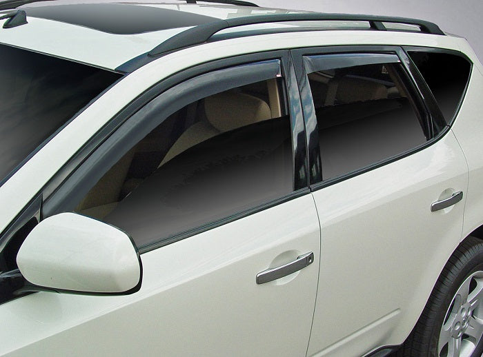 2007 Nissan Murano In-Channel Wind Deflectors