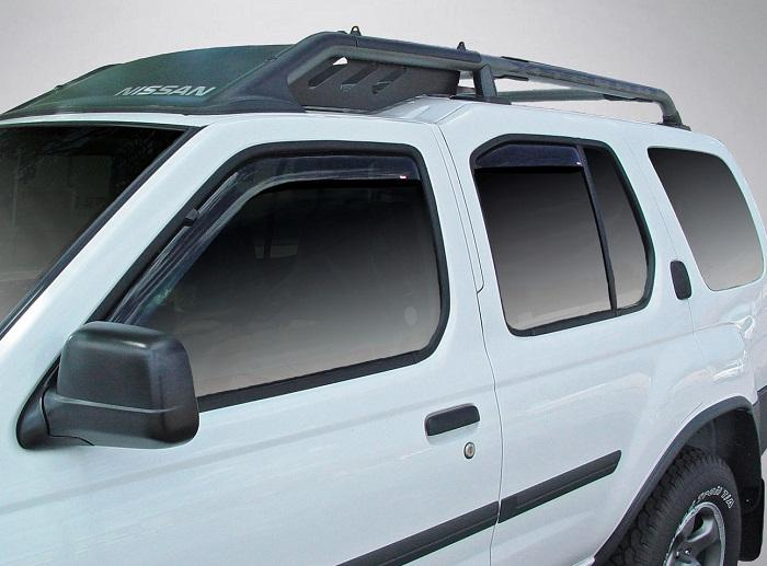 2000 Nissan Xterra In-Channel Wind Deflectors