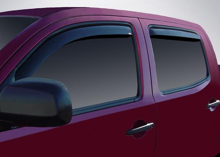 2011 Toyota Tacoma In-Channel Wind Deflectors