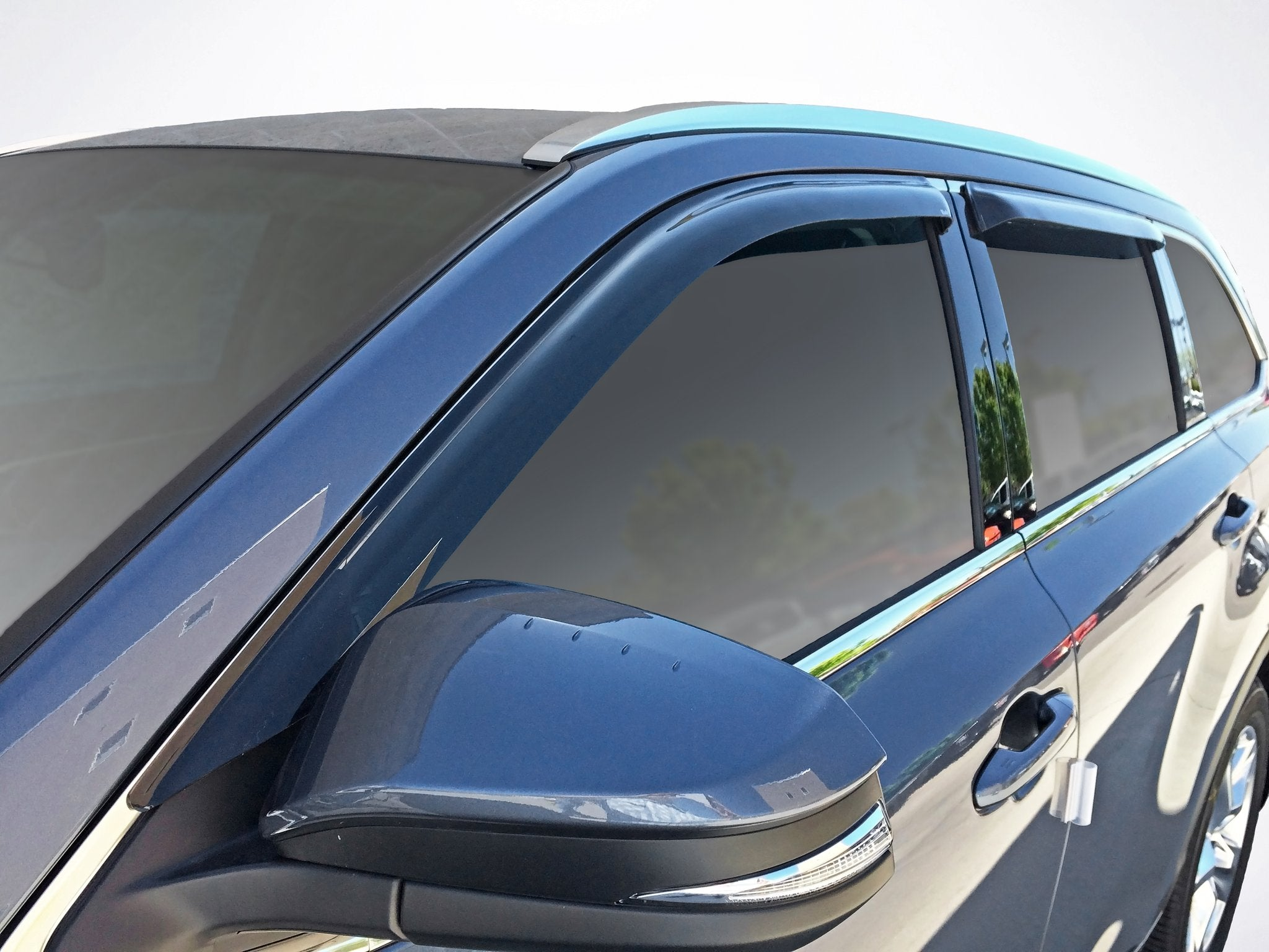 2016 Toyota Highlander Slim Wind Deflectors