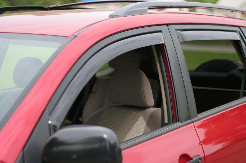 2002 Toyota Rav4 In-Channel Wind Deflectors