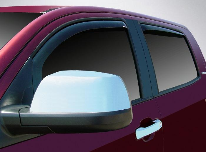 2011 Toyota Tundra In-Channel Wind Deflectors