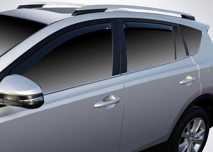 2018 Toyota Rav4 In-Channel Wind Deflectors