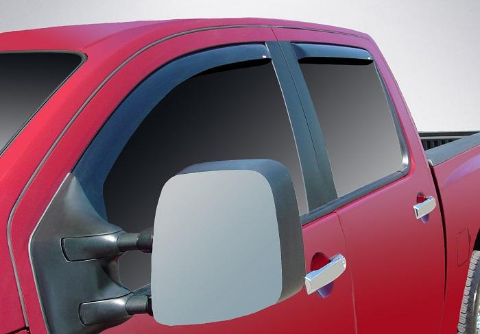 2009 Nissan Titan In-Channel Wind Deflectors