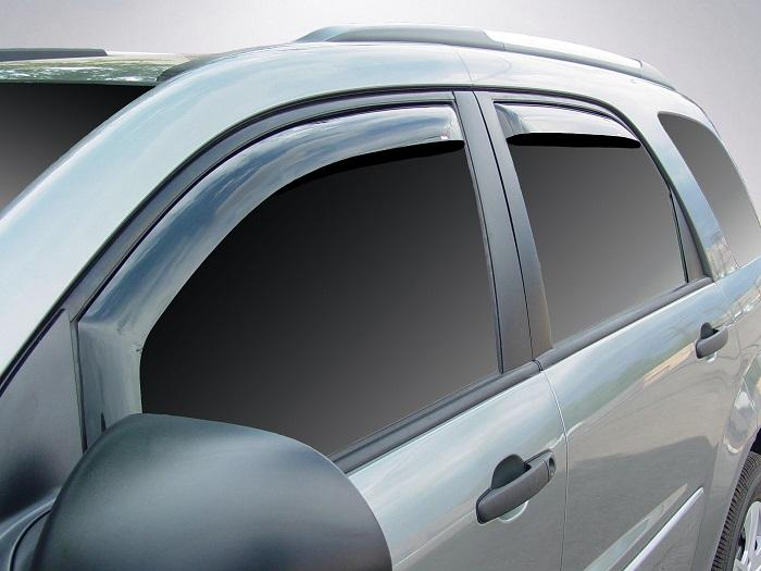 2007 Chevrolet Equinox In-Channel Wind Deflectors