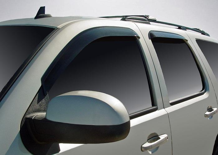2011 Chevrolet Suburban Slim Wind Deflectors