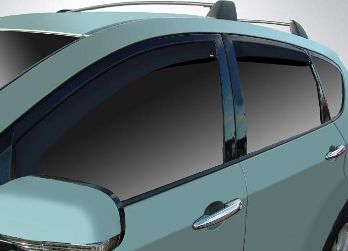 2011 Subaru Tribeca In-Channel Wind Deflectors