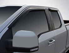 2010 Ford Super Duty Slim Wind Deflectors