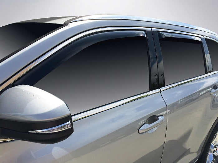 2017 Toyota Highlander In-Channel Wind Deflectors