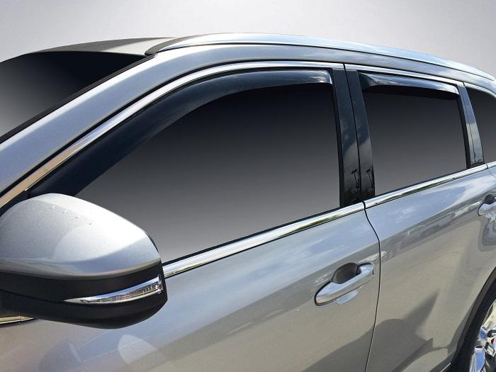 2018 Toyota Highlander In-Channel Wind Deflectors
