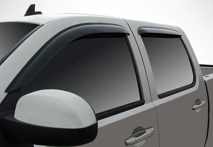 2007 Chevrolet Silverado Slim Wind Deflectors