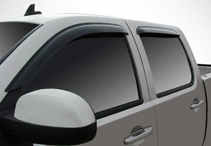 2009 Chevrolet Silverado Slim Wind Deflectors