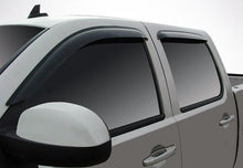 2010 Chevrolet Silverado Slim Wind Deflectors