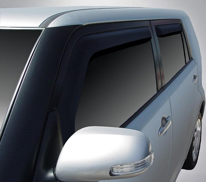 2011 Scion xB In-Channel Wind Deflectors