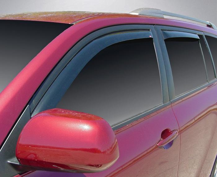 2008 Toyota Highlander In-Channel Wind Deflectors