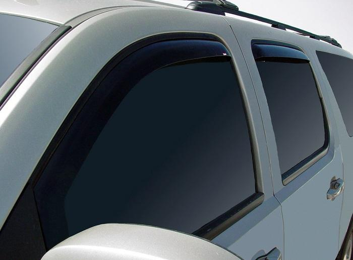2011 Chevrolet Suburban In-Channel Wind Deflectors