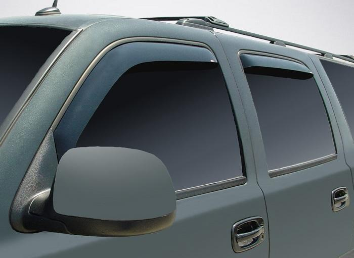 2002 GMC Yukon In-Channel Wind Deflectors