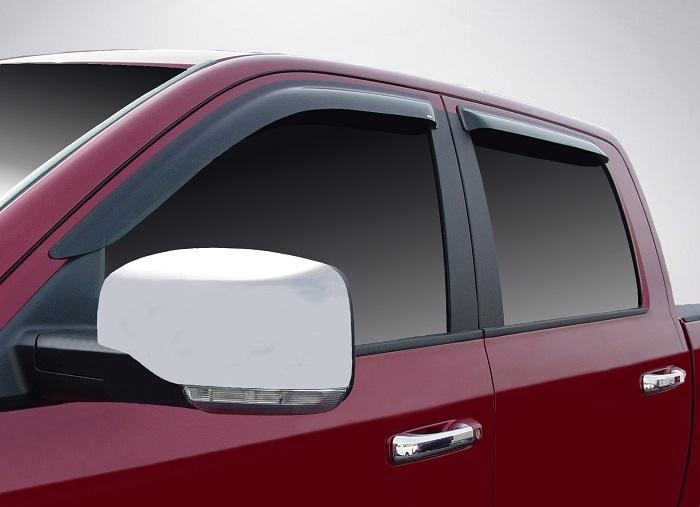2010 Dodge Ram Slim Wind Deflectors