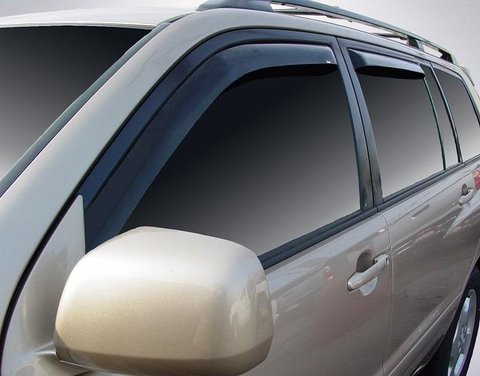 2004 Toyota Highlander In-Channel Wind Deflectors