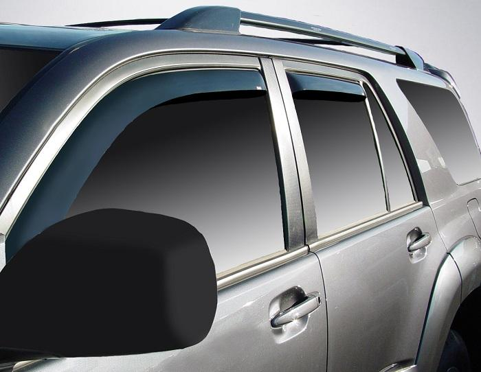 2008 Toyota 4Runner In-Channel Wind Deflectors