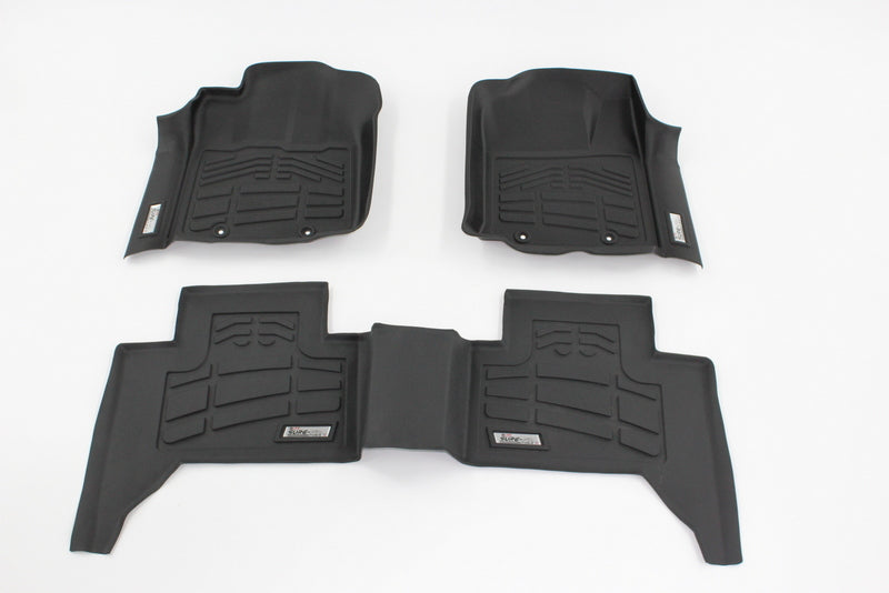 2013 Ford Super Duty Floor Mats | Combo Pack