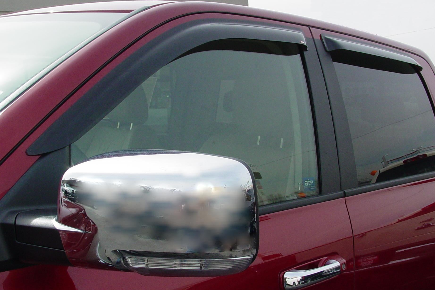 2008 Dodge Ram Slim Wind Deflectors