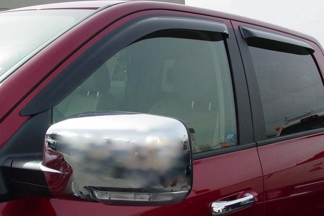 2009 Ford Explorer Sport Trac Slim Wind Deflectors