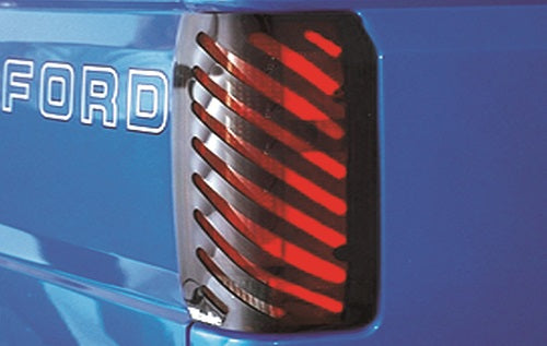 1991 Ford Ranger Slotted Tail Light Covers