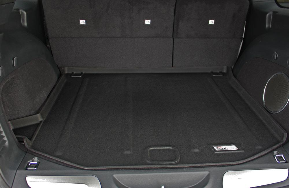 Black cargo mat for 2017 Jeep Grand Cherokee