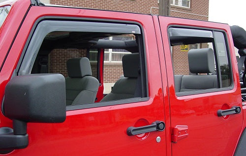 2010 Jeep Grand Cherokee In-Channel Wind Deflectors