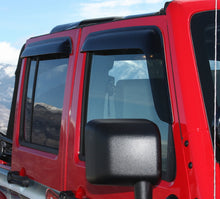 2013 Toyota FJ Cruiser Slim Wind Deflectors