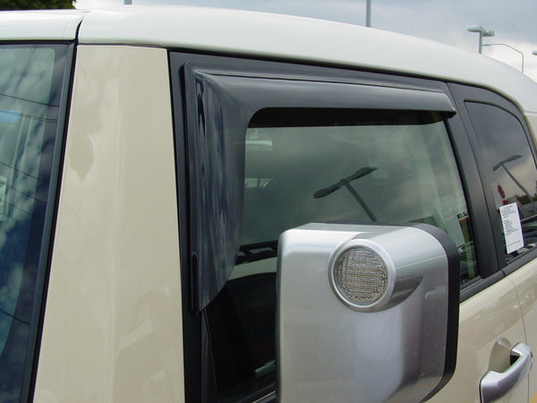 2010 Ford Econoline Van Slim Wind Deflectors