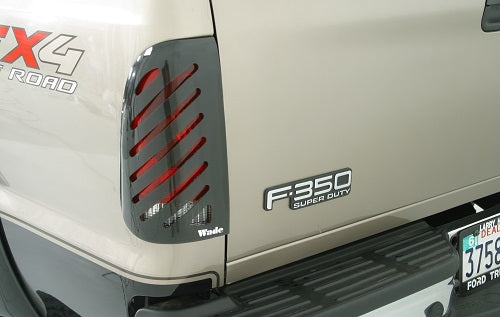 1987 Ford Bronco Slotted Tail Light Covers