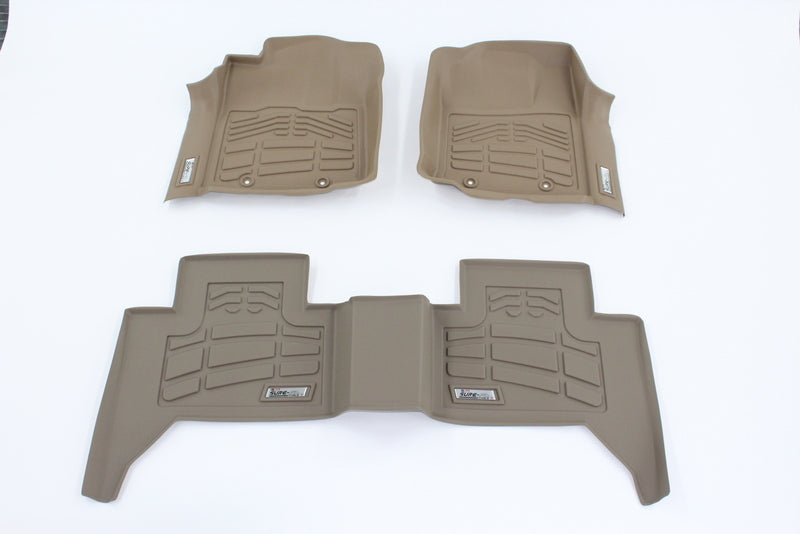 for jeep wrangler unlimited complete rubber slush all floor weather mats mat set