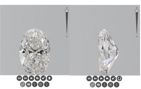 buying a natural diamond online for engagement rings