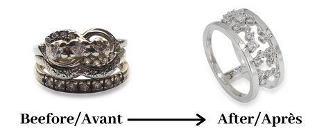 transformed ring old to new