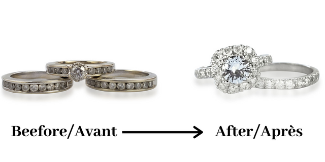 transform old jewelry to new