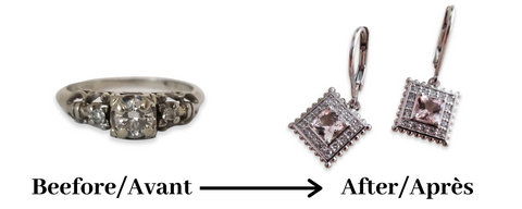 transforming old jewelry
